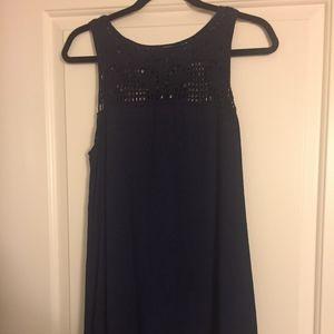 F21 Navy Dress (SMALL)